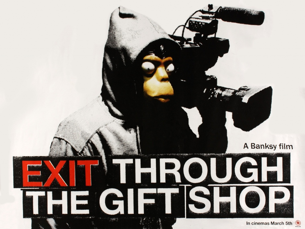 exit through the gift shop my Win an original exit through the gift shop poster, a talihinaskymovie poster and both films on dvd to win these great prizes, go to to enter if you like the prizes, please share the competition with your friends.