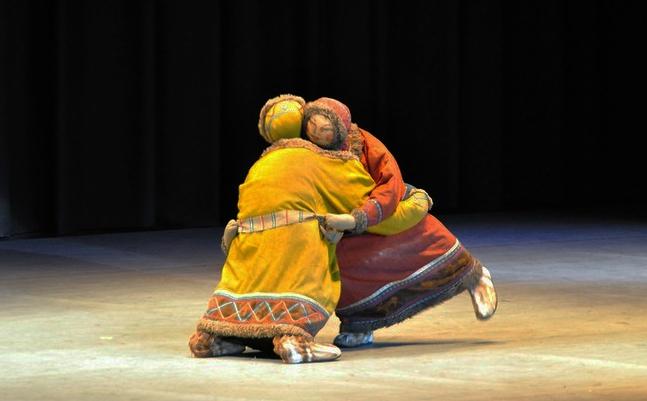 танец нанайских рыбаков